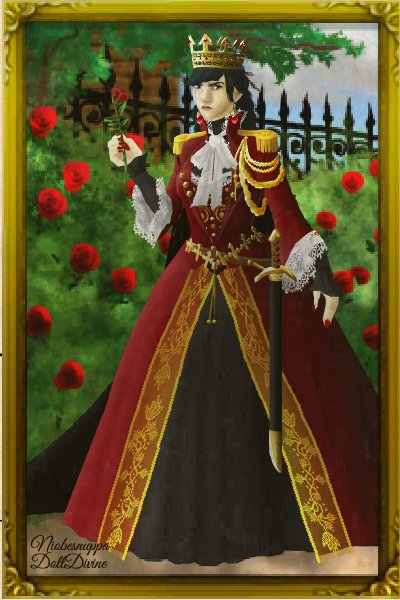 genderbent prince cy  or the queen of hearts  who knows