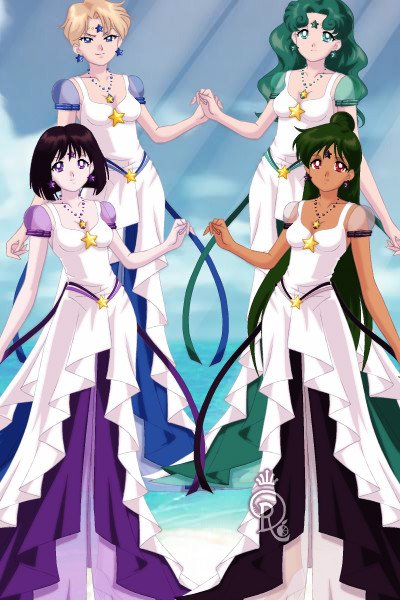 Eternal Princesses (Outer) ~ :D Just an idea I had #sailorsenshi #sai