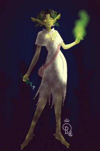 Thalia Ebony - Healer! ~ So, my idea for this round was to make a