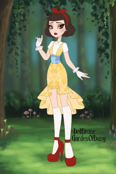 Snow White School Uniform ~ Snow white as a student in ever after hi