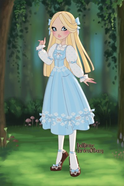 Alice Lidell ~ Alice in wonderland.
