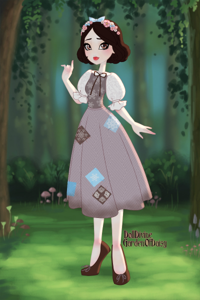 Snow White, peasent outfit<3 ~ When i was little the peasent outfit was