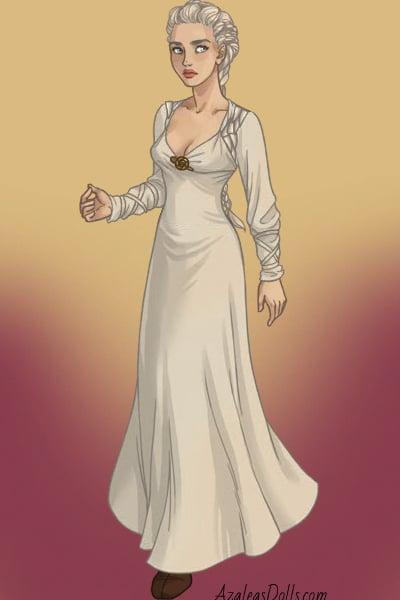 Daenerys Targaryen - Qarth 4 ~ by Lilithmoon22