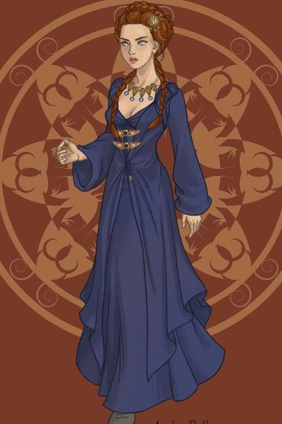 Sansa Stark Purple Wedding By Lilithmoon22