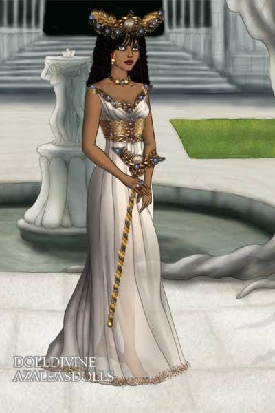 egyptian high priestess