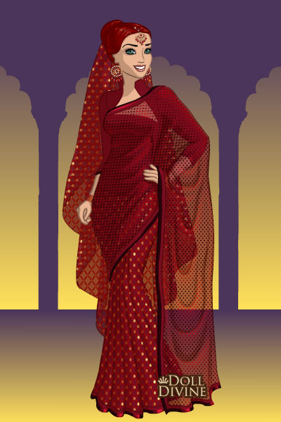 Elegant Sari ~ This is my 100th doll!