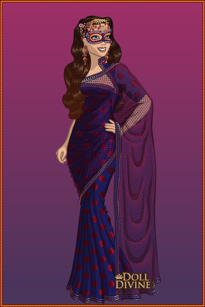 Masqurade ~ I love the elegance of the sari :)