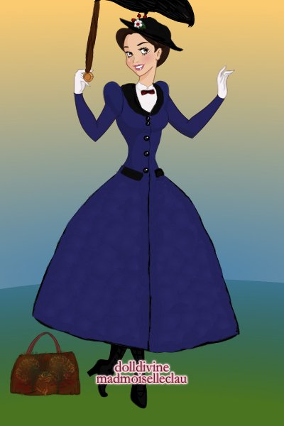 Mary Poppins ~ Mary Poppins - a favourite character who