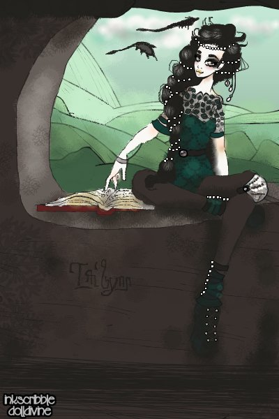 Tailynn by Pearlsdiner -Em ~ My #CityofBlackStone OC made at my reque