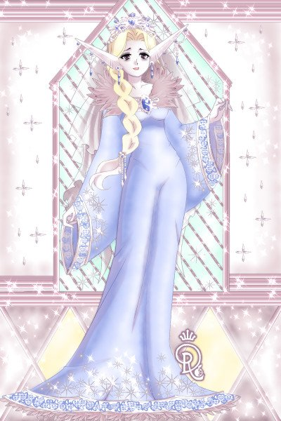 Caslene\'s Temple -Em ~ A priestess of Caslene, goddess of the V