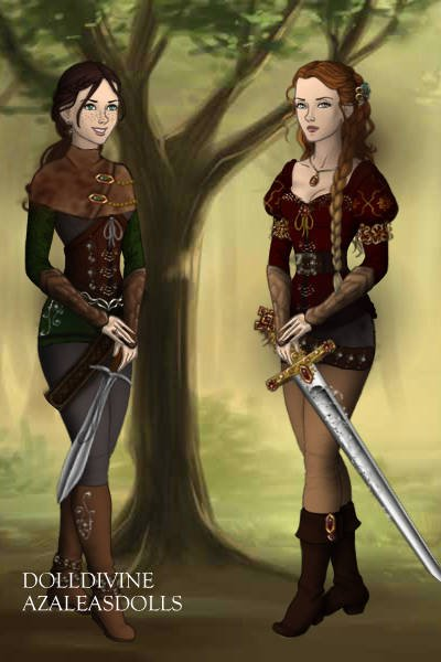 For Narnia! ~ Elysia and Allie ( yeah, I changed her n