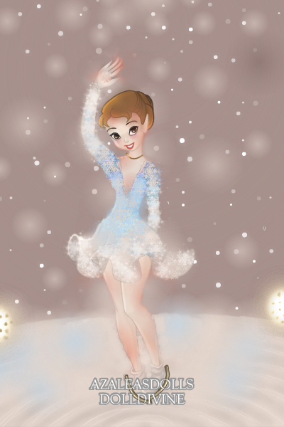 Sochi 2014 Carolina Kostner ~ I made her hand using Daisycat's amazing