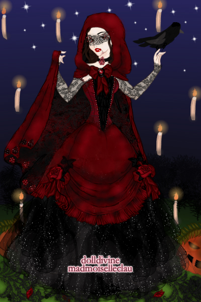 Of black feathers and red roses ~ For LadyLeaf's All Hallow's Eve Midnight