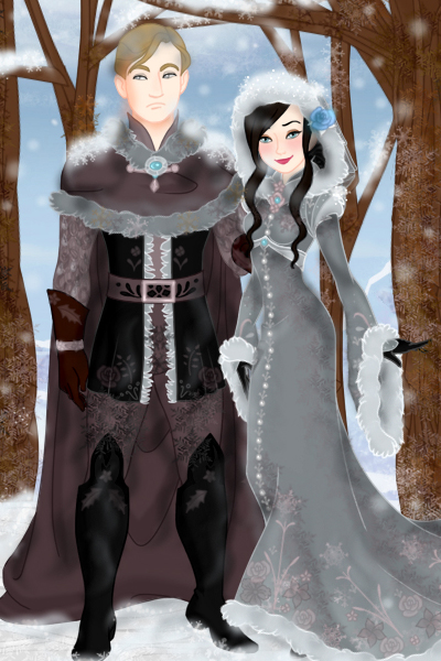 The Lord and Lady of Whitethrone ~ I know it's almost summer but yeah whate