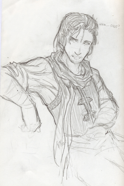 Jean babe ~ My old Dungeons&Dragons pc. He died. Mis