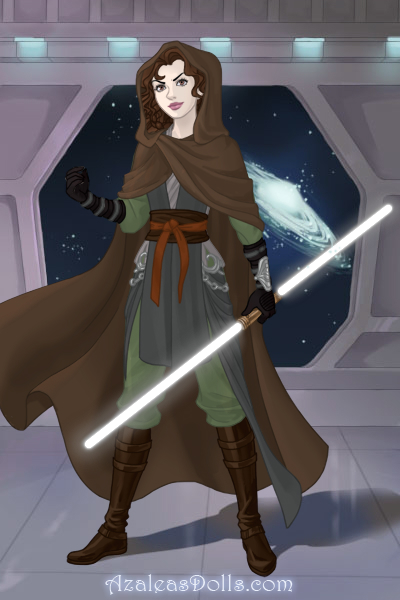 Jedi Warrior Me ~ Off to play kick the Sith with <a href=h