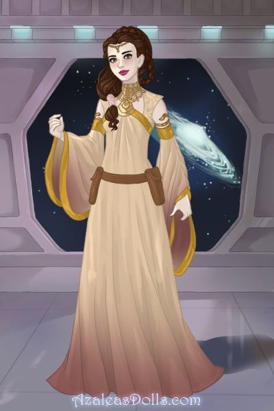I\'m a cute space princess ~ Even a Jedi likes to look fancy sometime