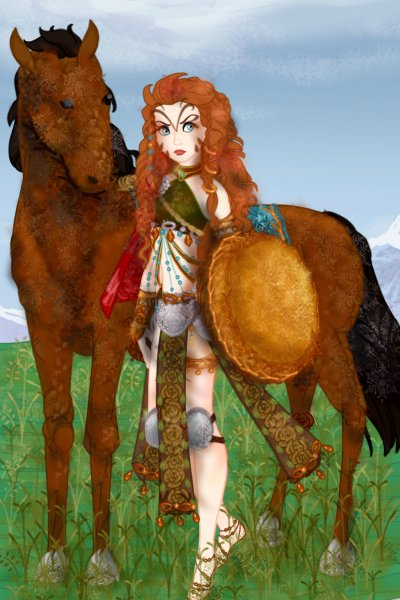 Re-Interpreting Disney - Fantasy Charact ~ Who doesn't know about the Amazons, the