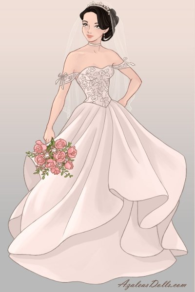 Eccentricity (Wedding Dress) ~ In some alternate universe where Metalic