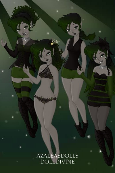 Blair\'s Outfits ~ Normal, Swim, Sleep, Formal (Forgot the