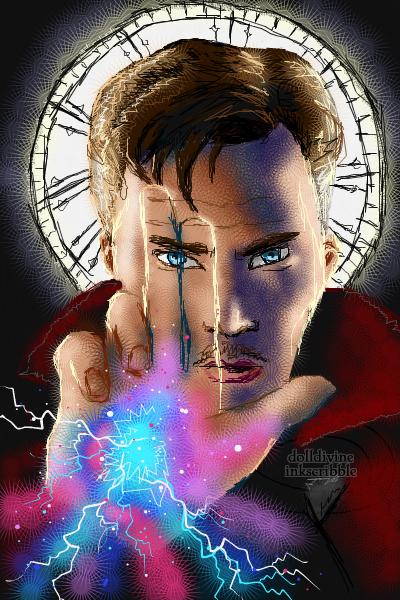 Doctor Strange ~ by 2BlueWizards