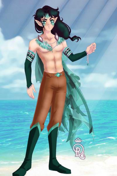 Character Adopt #4 ~ An OC for MissLepusLuna! He's an aquatic