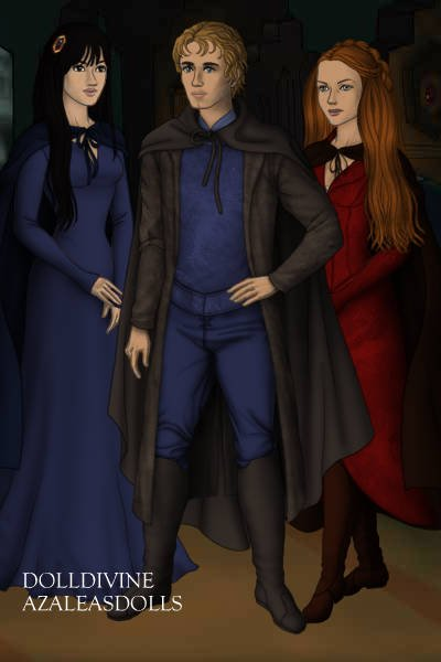 Michael Corner, Cho Chang, and Ginny Wea ~
