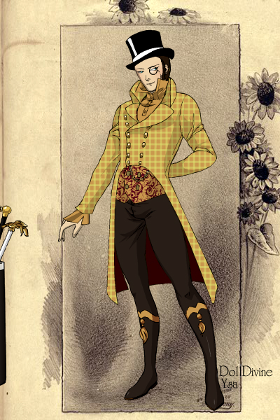 Victorian me ~ Me as a British Dandy