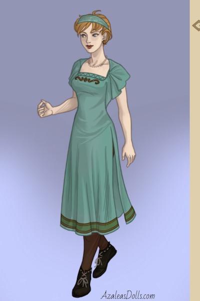 Celtic Dress By Druiddoll