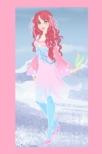 Pinkie Pie ~ Created using Azalea's Snow Queen Doll c