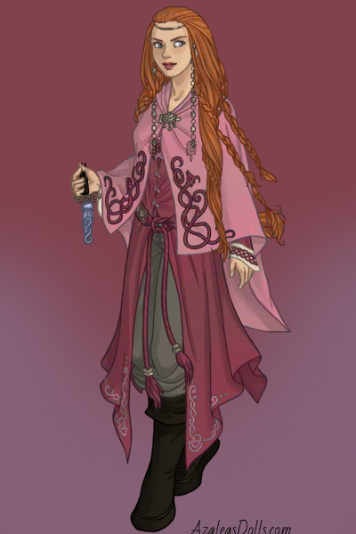 Ca\'tra in Viking Woman maker ~ Ca'tra's turn! Of course she'd have a sh