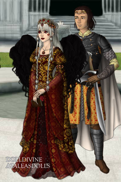 Rosamund and Magnus ~ Just normal Rosamund and Magnus from the