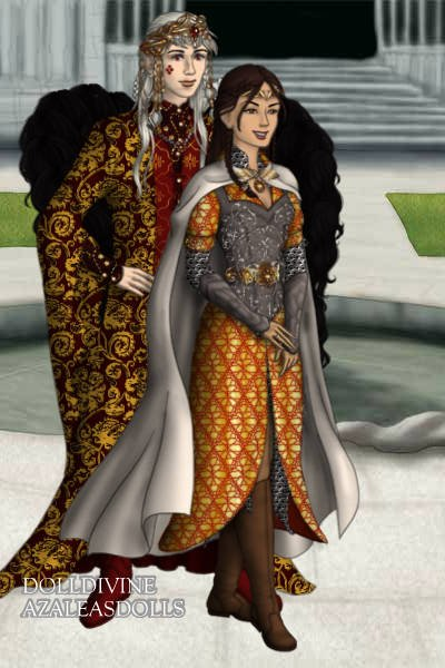 Gender Reverse of Rosamund and Magnus ~ Figured since the regular Magnus and Ros