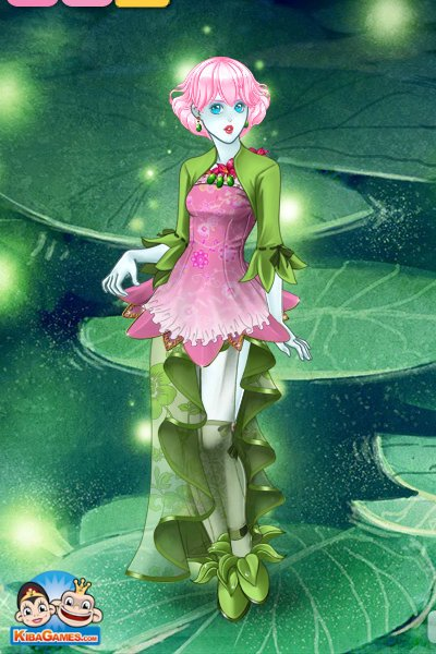 Princess Water Lily ~ She gets to kiss a lot of frogs~~if she