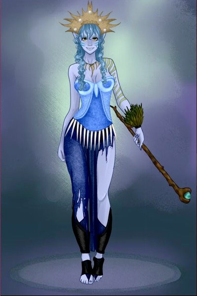 Water Deity ~ [Like a minor deity of the water, I gues