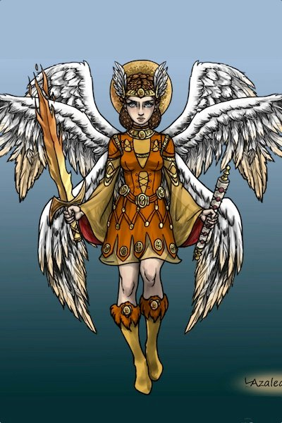 Guardian of the East Gate ~ The angel with the flaming sword that gu