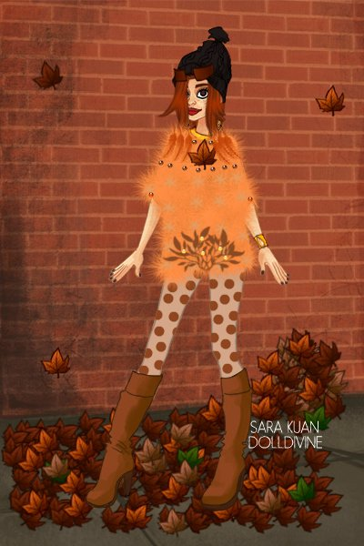 Fuzzy Autumn Jumper ~ For Kei2lyfe's Sweater Weather contest!