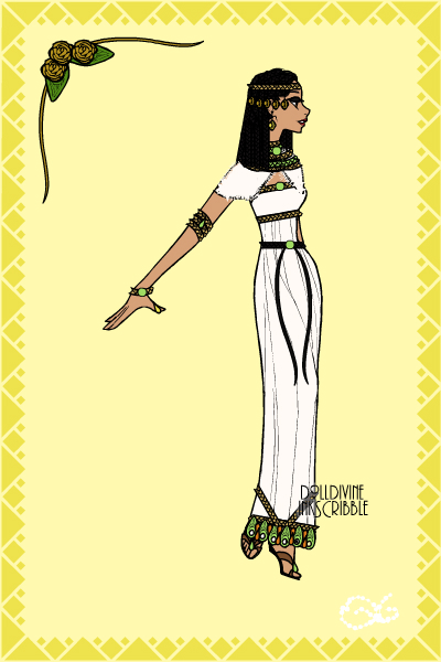 Ancient Egyptian Queen Falak! ~ My first (or second if you count me) of