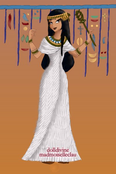 Ancient Egyptian Woman from Anna_Travele ~ Do not crown this. Don't do it. Just don