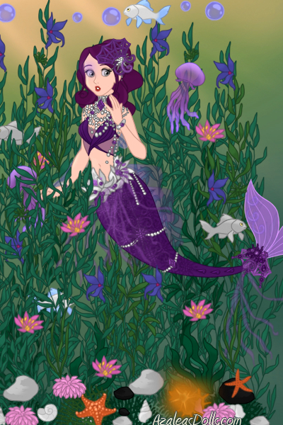 Kelp Forest Mermaid (A Christmas Gift fo ~ Hope you like it silver and Merry Christ