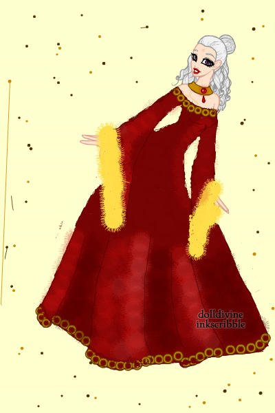 Queen Amalthea Laying on the Beach ~ Lady Amalthea, if she had stayed with Li