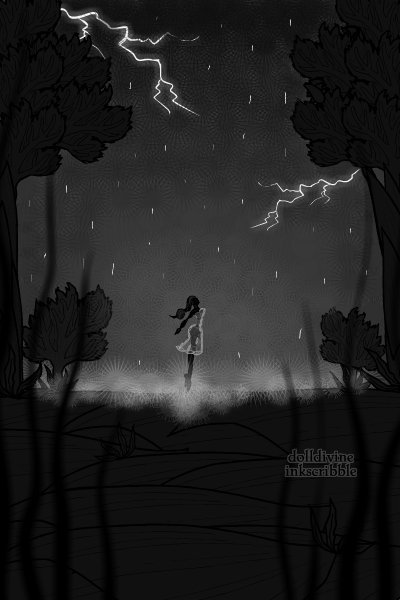 Stand in the Rain ~ She won't turn around. The shadows are l