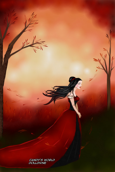 Autumn Rose (silver_kitten\'s OC) ~ Just like the storm clouds out of reach�