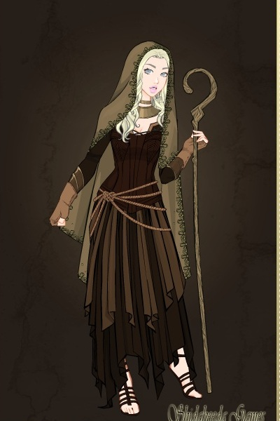 V 246 Lva Norse Witch Based On A Faroese Stamp By