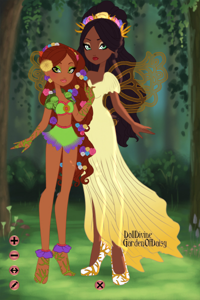 Mother & Daughter ~ The Greek Gods & Goddesses also go to EA