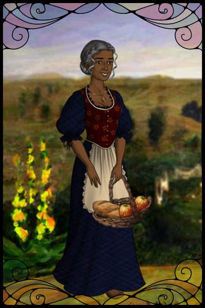 Ilo\'s Mother (yet to be named) ~ In her youth she was a servant in the ho