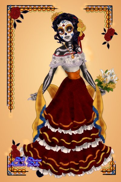 La Catrina ~ Since Dia de los Muertos is also startin