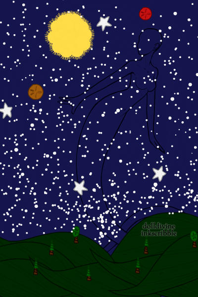 Starry Night, DD Version ~ Van Gogh's original has nothing on this