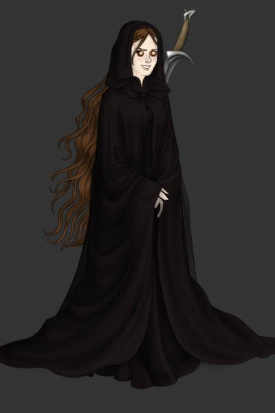 Sort of a female Nazgul...I don\'t know. ~ #dark #evil #creepy #lotr #lordofthering
