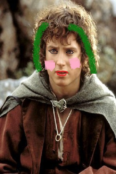What did I just make.... fabulous Frodo  ~ #lordoftherings #lotr #thehobbit #joke #